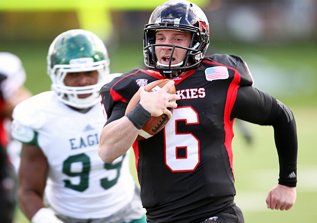 Jordan Lynch (6) and Northern Illinois hope to bust the BCS for the second consecutive season in 2013.