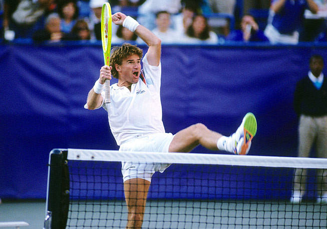Jimmy Connors famously -- and stunningly -- made the 1991 U.S. Open semifinals as a 39-year-old.