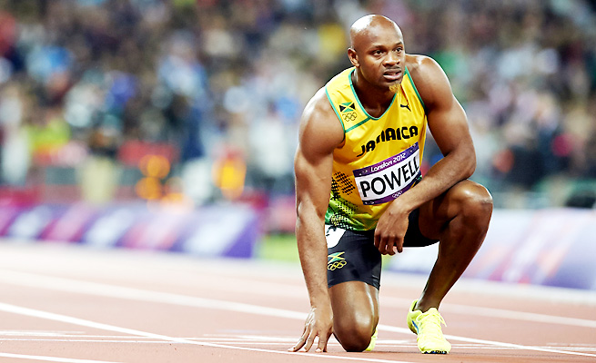 Sprinter Asafa Powell is one of eight Jamaican athletes to have tested positive for doping this year.