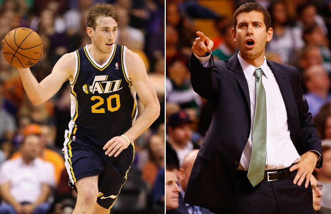 Ex-Bulldogs Gordon Hayward and Brad Stevens find themselves amid rebuilding projects in the NBA.