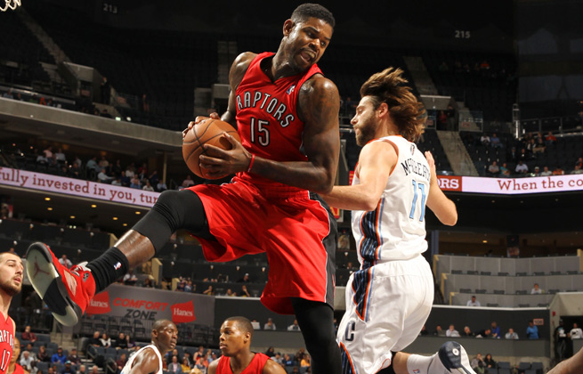 Amir Johnson is coming off his best season, with averages of 10 points, 7.5 rebounds and 1.4 blocks.