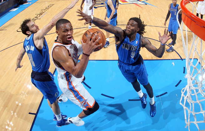 Russell Westbrook has showed some rust, but was plenty aggressive in his first two games back.