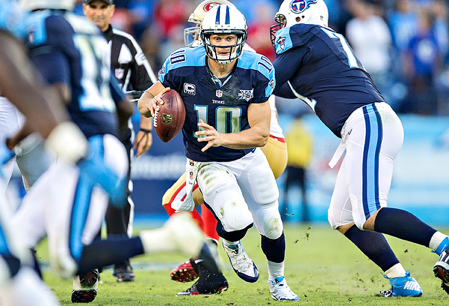 This might be the best opportunity to pick Jake Locker and the Tennessee Titans in a survivor pool.