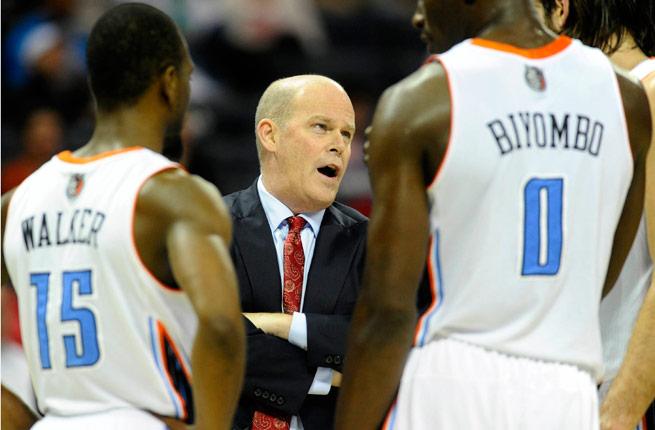 Steve Clifford has led the Bobcats to a 3-2 start in his first season as an NBA head coach.