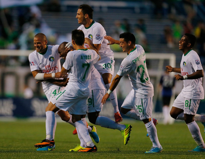 The New York Cosmos are aiming to end their revival season with an NASL Soccer Bowl title, but they will need to defeat the Atlanta Silverbacks Saturday to do so.