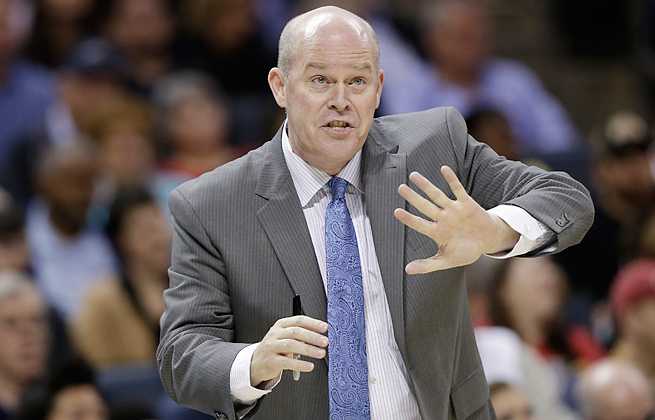 Steve Clifford led the Bobcats to a 3-2 record before taking a leave from the team to have a heart procedure.