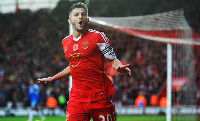 Adam Lallana scored an excellent individual goal in Southampton's 4-1 win over Hull.