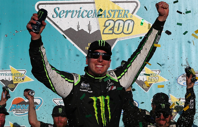 Kyle Busch has won 12 Nationwide Series races this season after being shutout last year.
