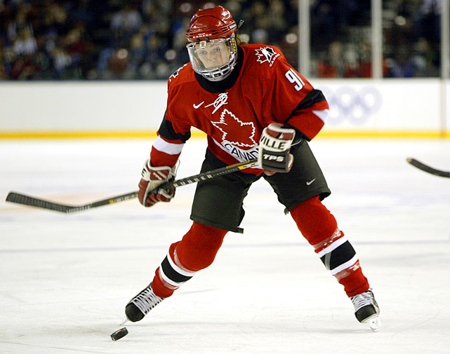 "Heaney is one of the legends of the women's game, Canada's ""female Bobby Orr,"" a rugged two-way defender who routinely quelled attacks long before they became scoring chances, then spearheaded the transition game with her superior playmaking and beautiful skating. She's best remembered for scoring the goal that clinched the gold medal in the first-ever Women's World Championship in 1990. Heaney went on to help Canada win seven World Championships, along with silver at the 1998 Olympics and gold in 2002."
