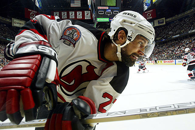 Drafted by the Devils with the third overall pick in 1991, the swift-skating defenseman wasn't just a great individual player (172 goals, 568 assists in 1,263 games). He made everyone around him better. His silky smooth skating was the envy of every player in the NHL, and he was dynamite in all three zones. But he was also a ferocious competitor and a leader who grasped the subtleties of guiding his teammates into battle as well as anyone who ever played the game. Add in a graceful character that earned him respect on and off the ice, and he was guaranteed a spot in the Hall