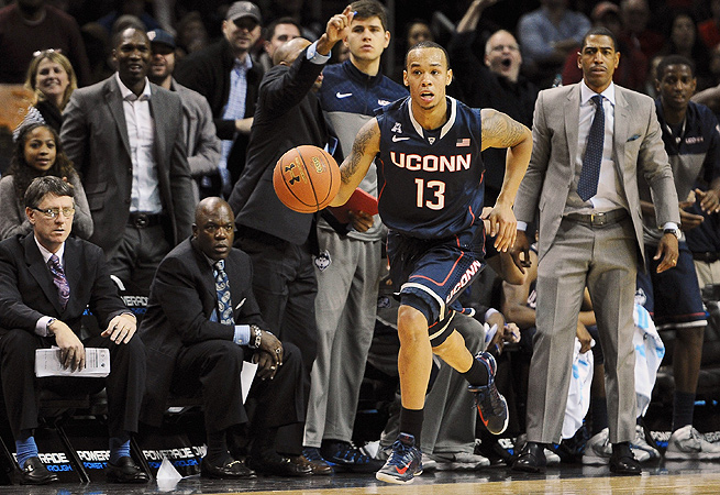 UConn guard Shabazz Napier showed his potential as a Player of the Year in the AAC.
