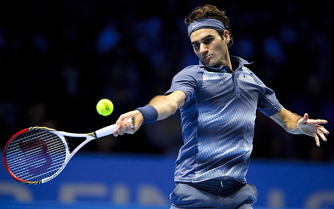 Roger Federer finished the 2013 season with a record of 45-17 and ranked No. 7 in the world.