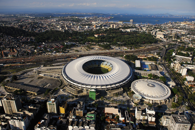 The Estadio do Maracana will host the 2014 FIFA World Cup final July 13. Tickets for the competition have sold at a rapid rate in the opening two phases of sales through FIFA's website.
