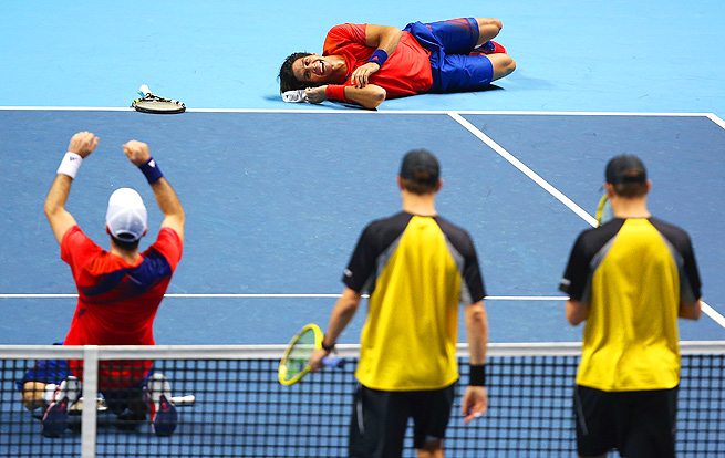 David Marrero and Fernando Verdasco became the third all-Spanish team to win doubles at ATP Finals.