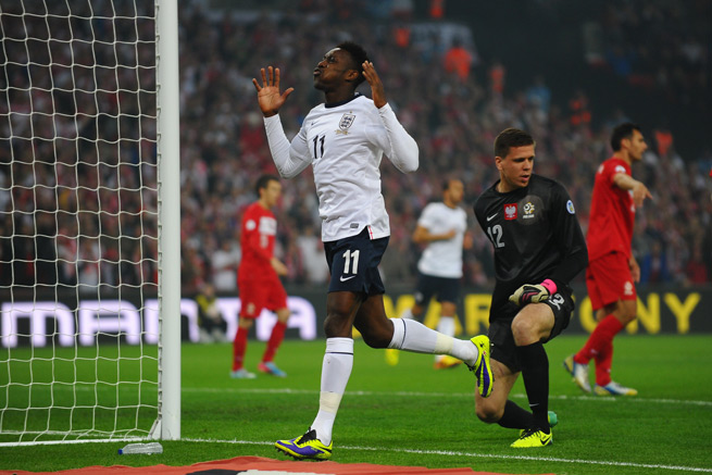 Manchester United forward Danny Welbeck and teammate Michael Carrick (not pictured) have been ruled out of England's upcoming friendlies against Chile and Germany.