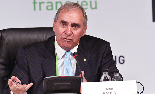 WADA President John Fahey revealed the steroid passport as a new resource to help catch dopers.