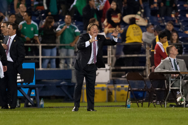 Mexico manager Miguel Herrera will guide El Tri against New Zealand in the first leg of their playoff series, with the winner earning a berth in the 2014 FIFA World Cup.
