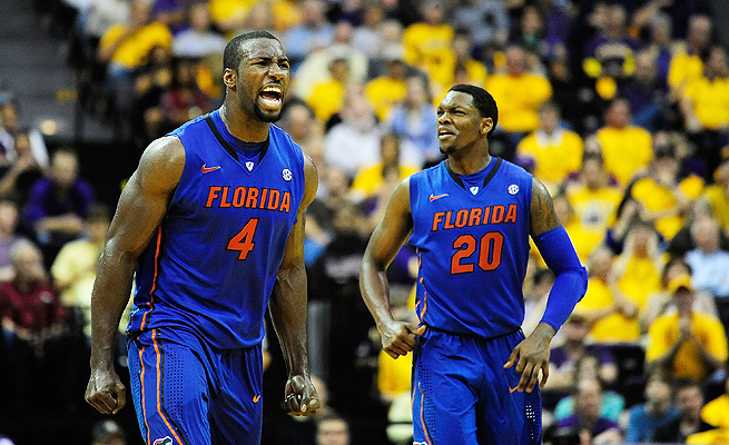 Patric Young (left) has been a staple of Florida's offense for four years. Michael Frazier (right) is hoping to make more of an impact in his sophomore year.