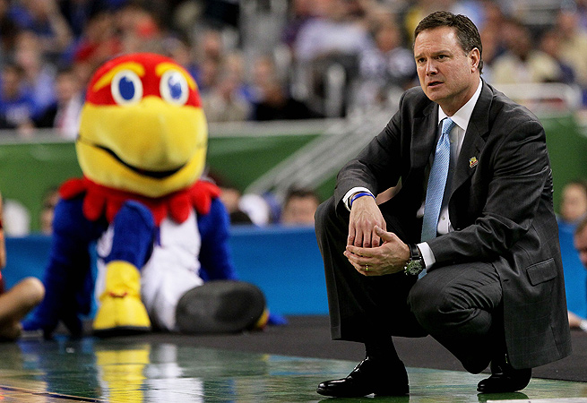 Bill Self is confident that he has assembled the right team around Andrew Wiggins.