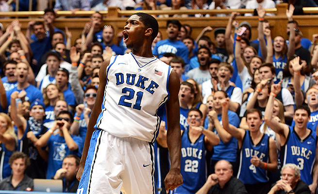With a four-guard lineup, Duke will count on undersized Amile Jefferson to be their center.