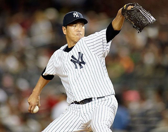 <bold>2013 Stats:</bold> 11-13, 3.31 ERA, 1.162 WHIP, 6.7 K/9 <bold>Current team:</bold> Yankees <bold>Best fit:</bold> Dodgers Kuroda was a legitimate Cy Young contender through Aug. 12, when he was 11-7 with a 2.33 ERA, but a rough final eight starts (in which he went 0-6 with a 6.56 mark) put an end to that. Still, the Yankees would very much like him back -- he was their best starting pitcher last year -- but Kuroda has always approached free agency his own way. He has signed three straight one-year contracts when he could have had longer deals so that he could maintain flexibility and even preserve the option to go back to Japan. He might go home, but another sensible move would be to go about a third of the way there -- back to Los Angeles, where he pitched for the Dodgers from 2008 to '11, and where he'd nicely slot in behind Clayton Kershaw, Zack Greinke and Hyun-Jin Ryu.