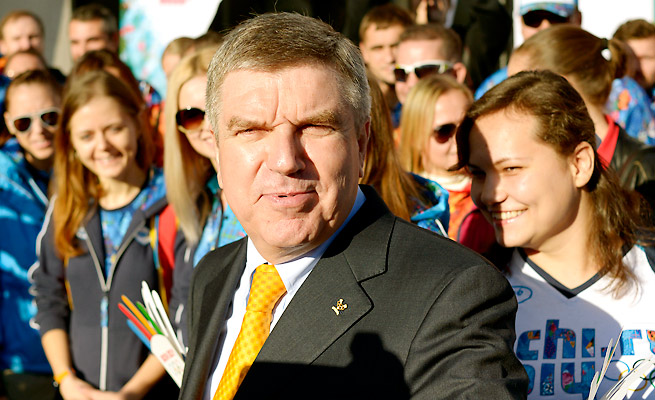Thomas Bach opposes reducing Lance Armstrong's sanctions for cooperation in a doping investigation.