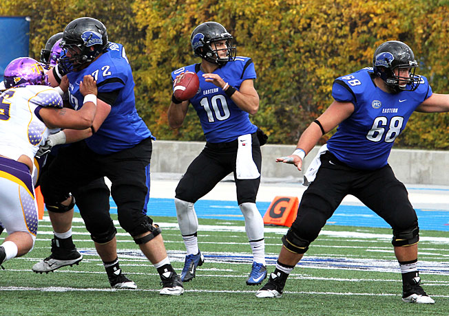 Eastern Illinois senior quarterback Jimmy Garoppolo has impressed NFL scouts with his quick release.
