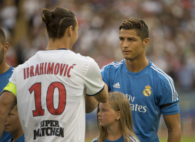 Either Zlatan Ibrahimovic or Cristiano Ronaldo will miss out on the 2014 World Cup, which is a major storyline ahead of Sweden's qualifying playoff first leg against Portugal on Friday.