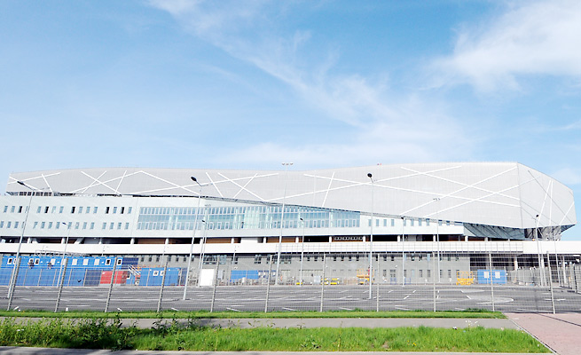 Arena Lviv, which hosted three matches at Euro 2012, would be reused for the Olympics in Lviv's bid.