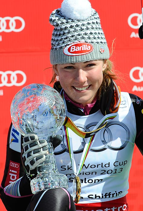 The reigning world champion and world cup points leader in the slalom, Mikaela Shiffrin is the bright new face of the U.S. alpine team. Look for the 18-year-old to make the team in the giant slalom as well.