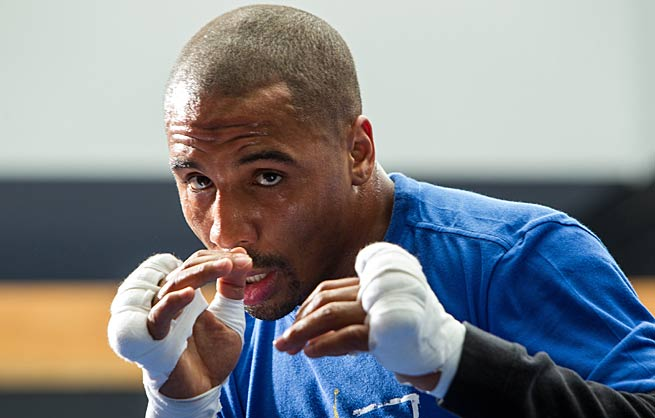 Andre Ward (pictured) will end a 14-month absence from the ring when he takes on Edwin Rodriguez.