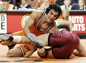 Hendricks compiled a 103-12 record at Oklahoma State and won two NCAA Championships.