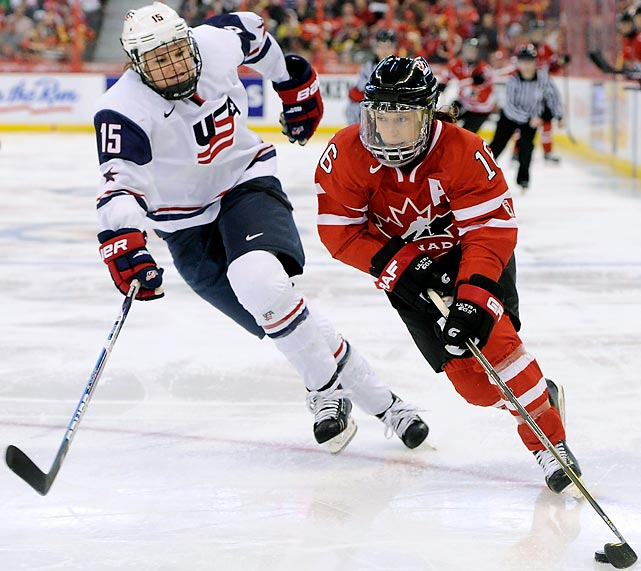 Count on these two powerhouses meeting in the gold medal game. In three of the four Olympics and in all 15 world championships, these teams have clashed in the final game.