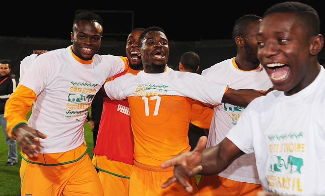 Ivory Coast celebrated their third-ever and third-straight World Cup qualification after defeating Senegal on aggregate.