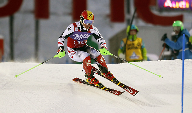 Marcel Hirscher continued his slalom dominance with a great performance at the World Cup.