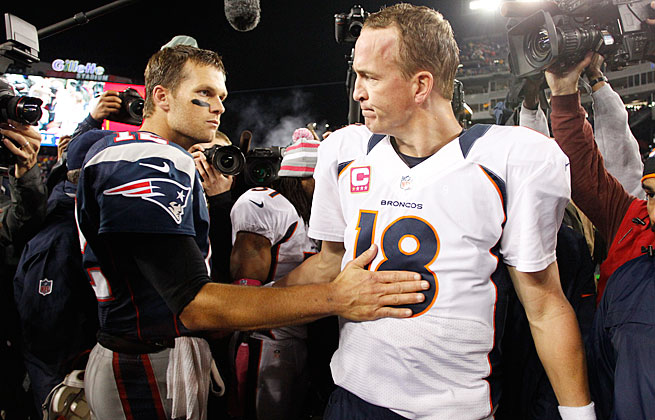 Tom Brady and Peyton Manning will have cameras on them for the entirety of their Week 12 duel.