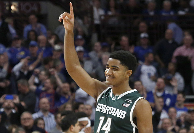 After the Spartans' win over Kentucky, Gary Harris -- and the rest of the country -- knew they'd be No. 1