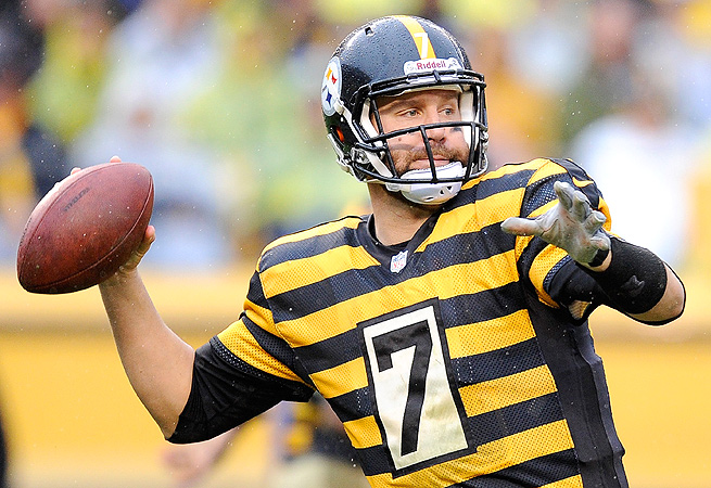 In three weeks, Ben Roethlisberger has thrown for nine touchdowns and only three interceptions.