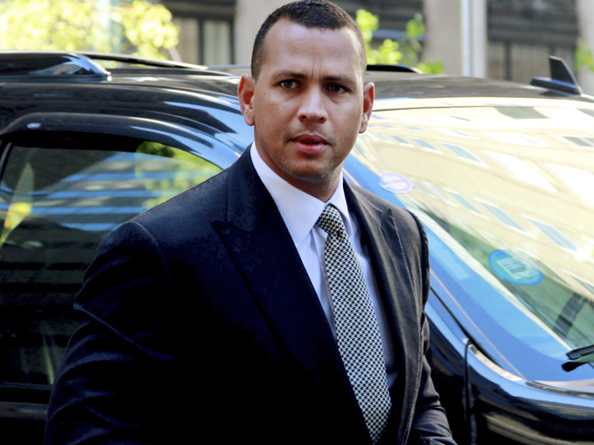 Documents concerning Alex Rodriguez's alleged PED usage were stolen in Florida back in March.