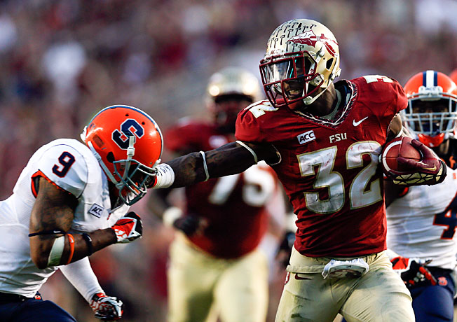 According to advanced stats, James Wilder Jr. (32) and Florida State are the No. 1 team after Week 12.