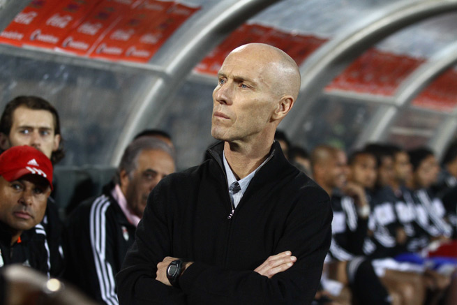 Former USA manager Bob Bradley guided Egypt to a 2-1 victory over Ghana Tuesday, but the Black Stars advanced to the World Cup on a 7-3 aggregate.