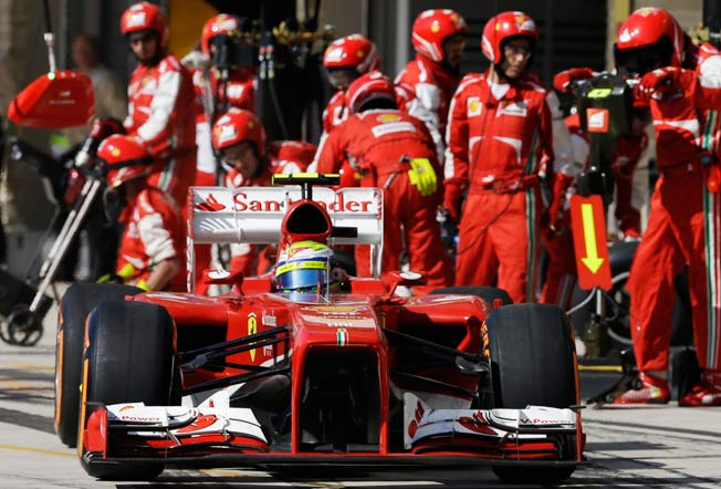 Felipe Massa will end his eight-year tenure with Ferrari at the scene of his career highlight.