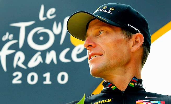 Acceptance Insurance sued Lance Armstrong for bonuses it paid him for winning the Tour de France.