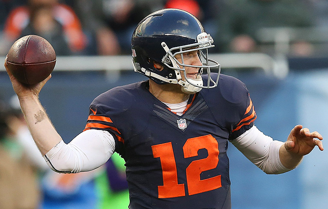Look for Josh McCown to quickly dump the ball off to one of his offensive weapons against the Rams.