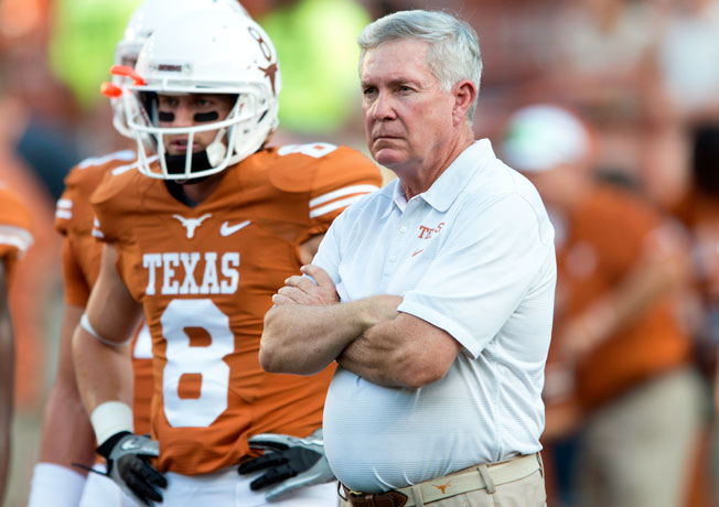 Mack Brown's future with the Longhorns beyond the 2013 college football campaign remains uncertain.