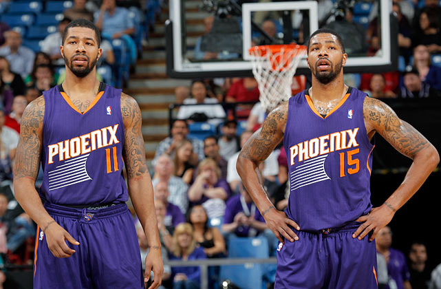 The twins from Philly, Markieff and Marcus Morris, committed at the same time to play for the Kansas Jayhawks, and four years later they were drafted 13th and 14th overall, respectively, in the 2011 NBA draft. Markieff has averaged 7.8 points and 4.7 rebounds in 145 games in two seasons with the Phoenix Suns. Marcus joined the Suns in a midseason trade with Houston and averaged 5.7 points in 23 games with Phoenix.