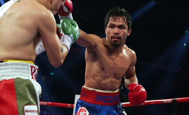 Manny Pacquiao | Photo: Nicky Loh/Getty Images