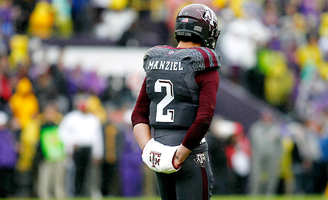 Johnny Manziel saw his Heisman hopes fade in Texas A&M's loss to LSU on Saturday.