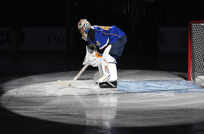 In a white hot spotlight, Blues goalie Jaro Halak answered his doubters with three strong outings.