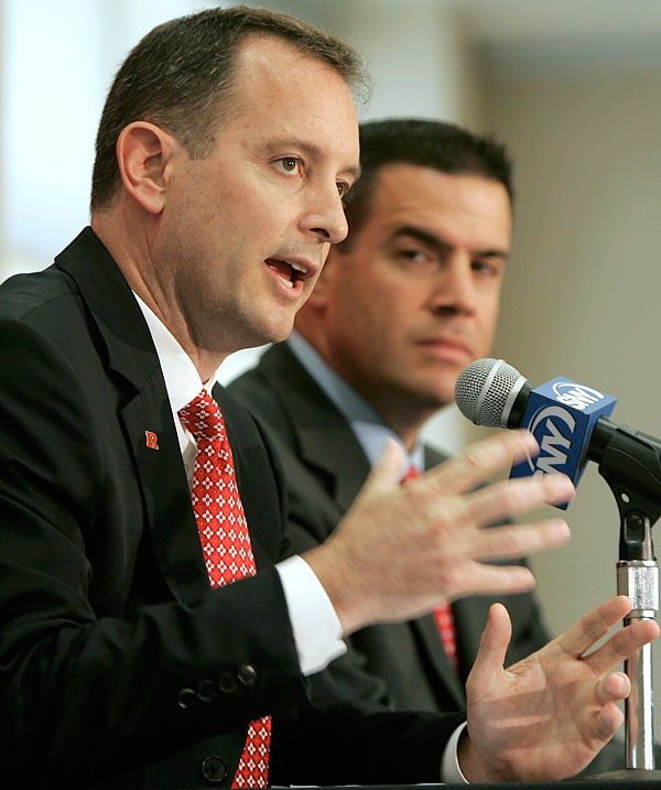 When the video of men's basketball coach Mike Rice physically and verbally abusing his players went viral last April, it exposed not just an out-of-control coach, but an administration prone to blunder. Rice was fired by AD Tim Pernetti, who was then ousted by president Robert Barchi for not firing Rice when Pernetti saw the video in November (even though Barchi approved Rice's suspension at the time.) Pernetti's replacement, Julie Hermann, seemed like the perfect scandal corrective?until a reporter made the calls Barchi's people had not and learned that some of Hermann's former volleyball players at Tennessee had accused her of verbal and mental abuse.